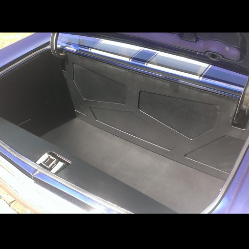 1970 Chevy Chavelle Trunk