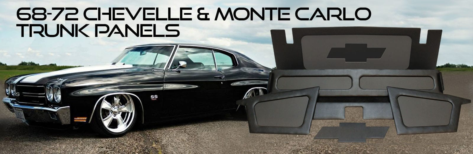 Chevelle and Monte Carlo Trunk Panels