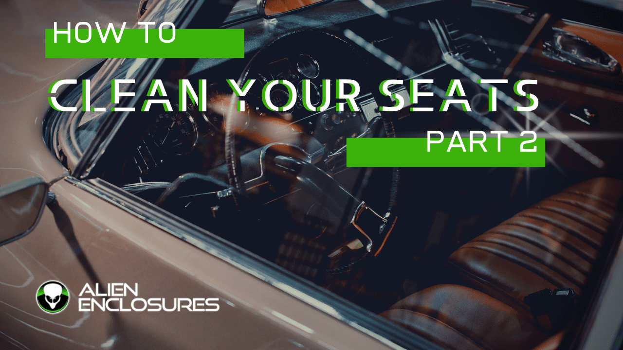 how to deep clean your leather seats part 2